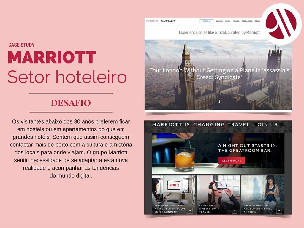 Marriott content marketing, Marriott Traveler