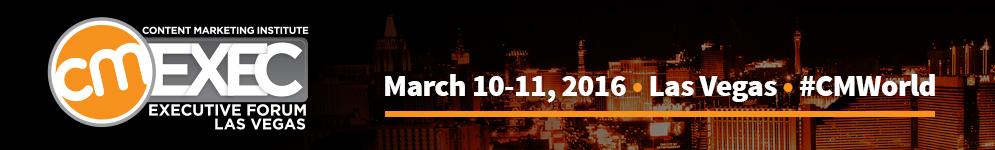 Content Marketing Institute: Executive Forum