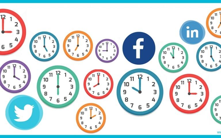 Qual a melhor hora para publicar nas redes sociais?