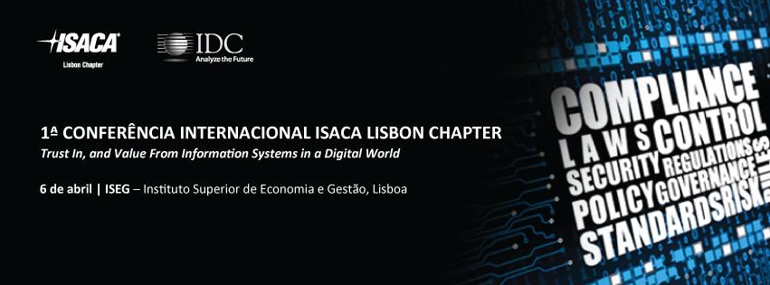1.ª Conferência Internacional ISACA Lisbon Chapter