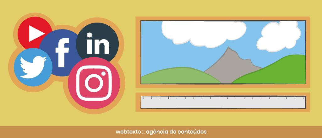 Tamanho de imagens para redes sociais [2019]