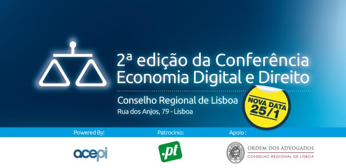 2ª edição Conferência Economia Digital e Direito