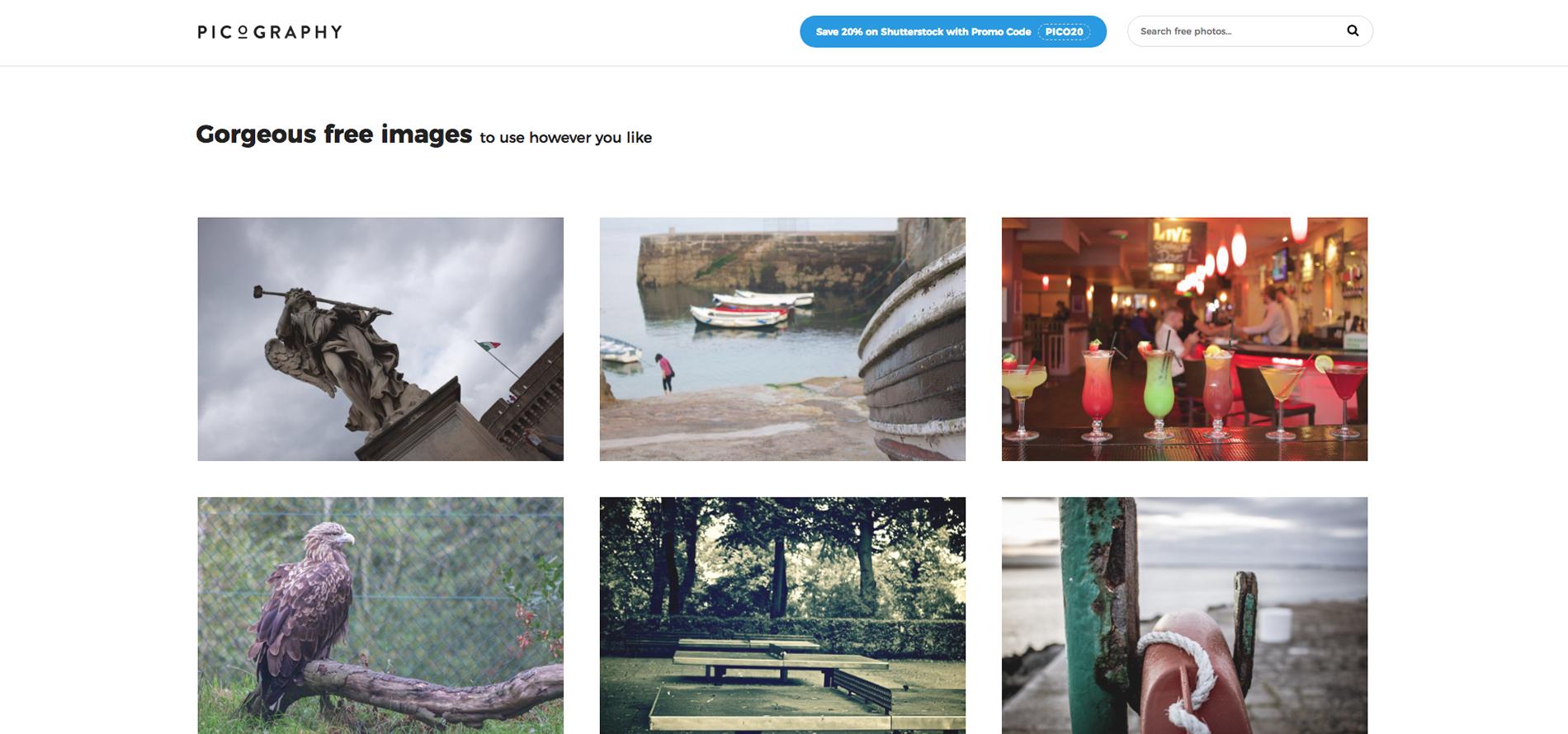 picography, bancos de imagens, melhores bancos de imagens, imagens