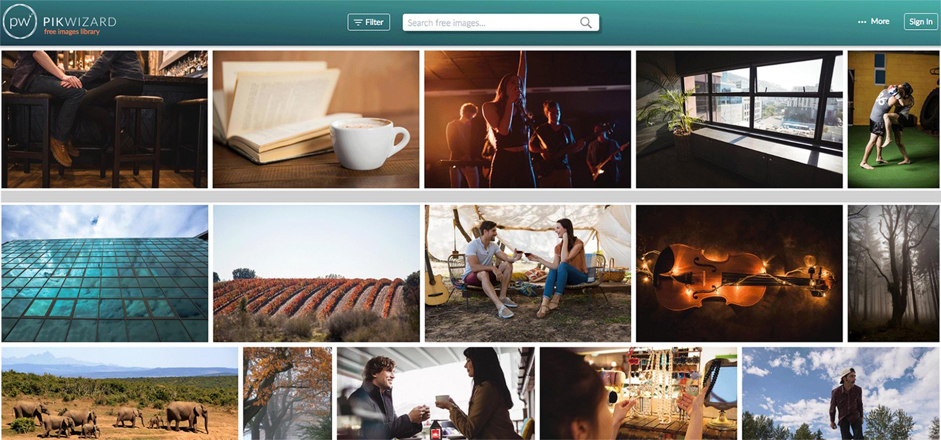 pikwizard, bancos de imagens, melhores bancos de imagens, imagens