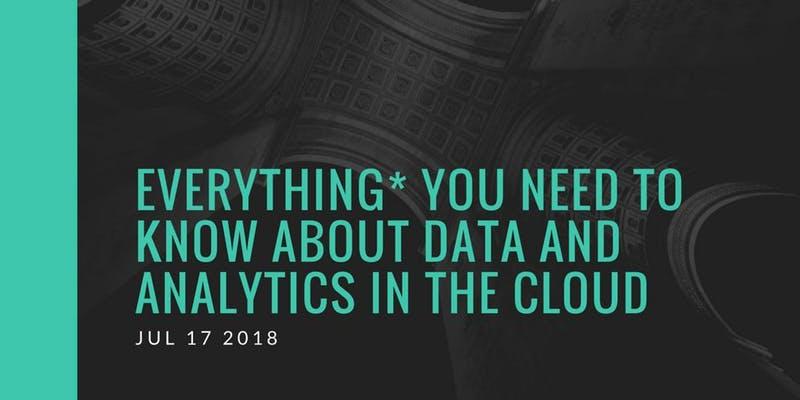 Data Analytics na Cloud