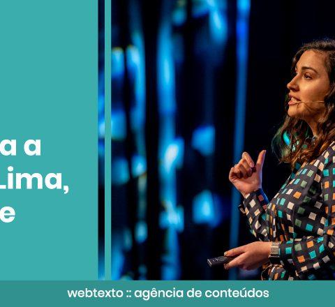 """Adriana Lima, da Google: """"Para gerar conversões é preciso ter uma estratégia de notoriedade"""""""