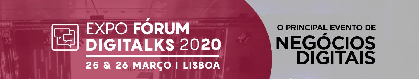 Expo Fórum Digitalks Lisboa 2020