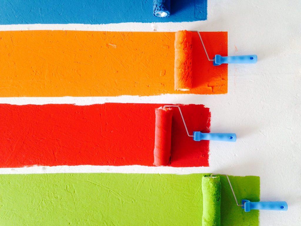 cores e marketing