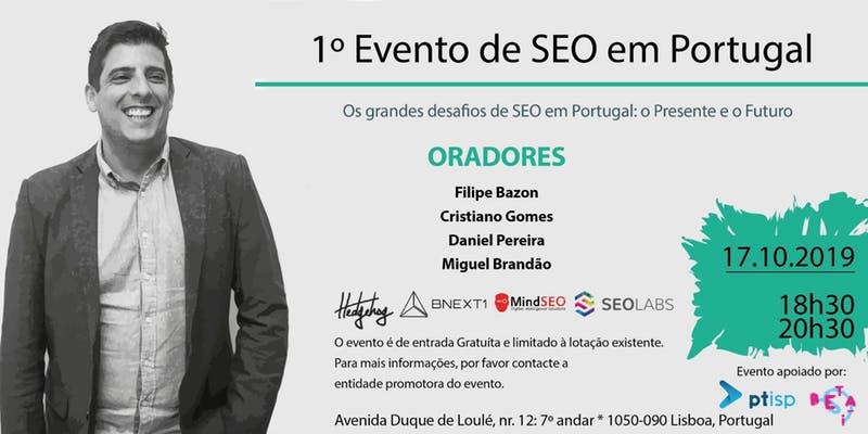 1º Evento de SEO em Portugal