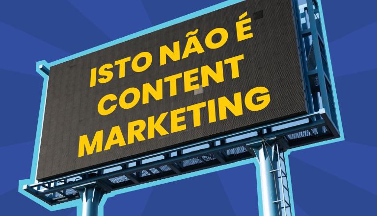 Diferenças entre publicidade comercial e Content Marketing